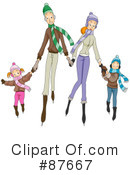 Royalty-Free (RF) family Clipart Illustration #87667