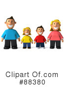 Royalty-Free (RF) Family Clipart Illustration #88380