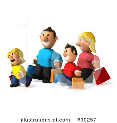 Family Clipart #90257 by Julos