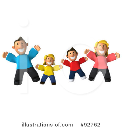 Family Clipart #92762 by Julos
