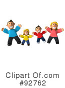 Royalty-Free (RF) Family Clipart Illustration #92762