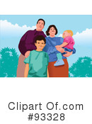 Family Clipart #93328 by mayawizard101