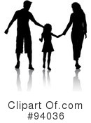 Royalty-Free (RF) Family Clipart Illustration #94036