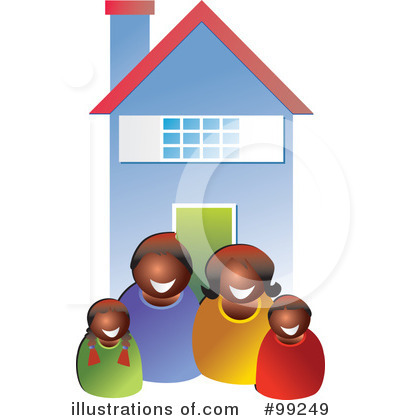 Royalty-Free (RF) Family Clipart Illustration by Prawny - Stock Sample #99249