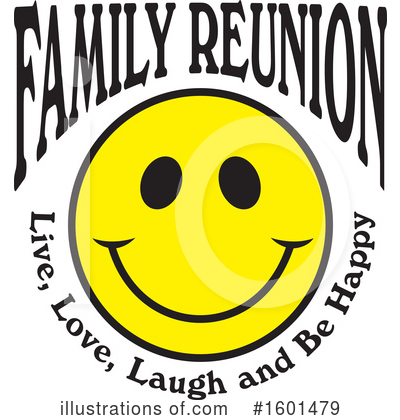 Royalty-Free (RF) Family Reunion Clipart Illustration by Johnny Sajem - Stock Sample #1601479
