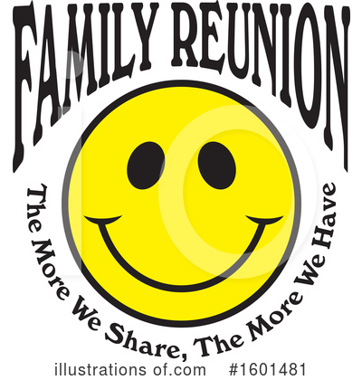 Royalty-Free (RF) Family Reunion Clipart Illustration by Johnny Sajem - Stock Sample #1601481