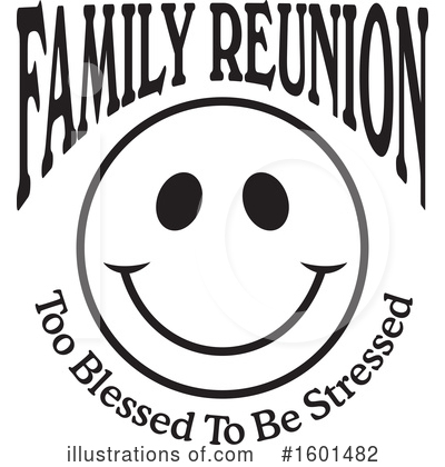 Royalty-Free (RF) Family Reunion Clipart Illustration by Johnny Sajem - Stock Sample #1601482