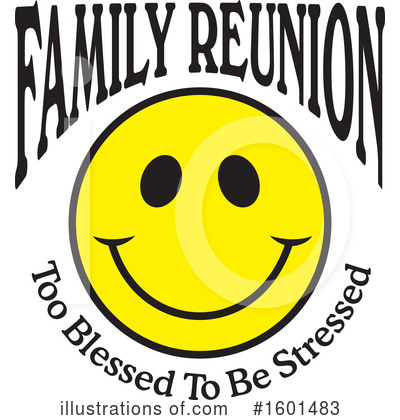Royalty-Free (RF) Family Reunion Clipart Illustration by Johnny Sajem - Stock Sample #1601483