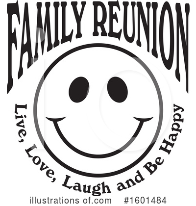 Royalty-Free (RF) Family Reunion Clipart Illustration by Johnny Sajem - Stock Sample #1601484