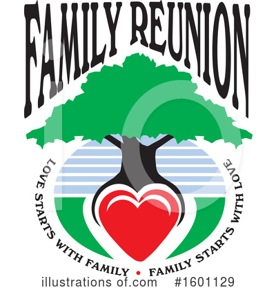 Family Reunion Clipart #1601129 by Johnny Sajem