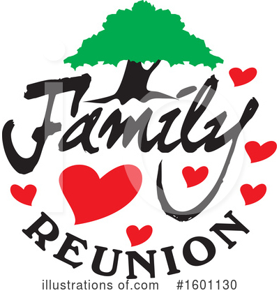 Family Reunion Clipart #1601130 by Johnny Sajem