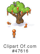 Family Tree Clipart #47616 by Leo Blanchette