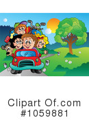 Family Vacation Clipart #1059881 by visekart