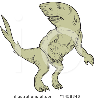 Shark Clipart #1458846 by patrimonio