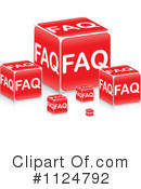 Royalty-Free (RF) Faq Clipart Illustration #1124792