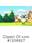 Farm Animal Clipart #1208927 by Graphics RF