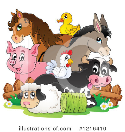 Animals Clipart #1216410 by visekart