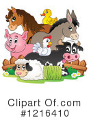 Farm Animal Clipart #1216410 by visekart