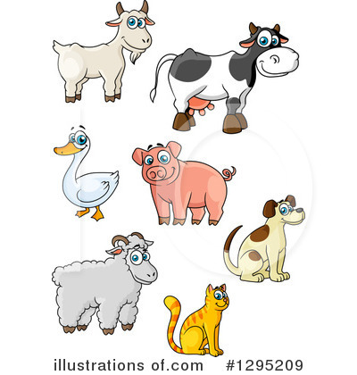 Duck Clipart #1295209 by Vector Tradition SM
