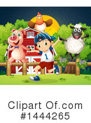 Farm Animal Clipart #1444265 by Graphics RF