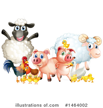 Pig Clipart #1464002 by Graphics RF