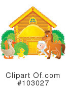 Farm Animals Clipart #103027 by Alex Bannykh