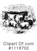 Royalty-Free (RF) farm animals Clipart Illustration #1118702