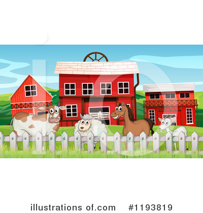 Cow Clipart #1193819 by Graphics RF