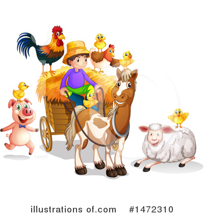 Farmer Clipart #1472310 by Graphics RF