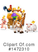 Farm Animals Clipart #1472310 by Graphics RF
