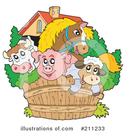 Farm Clipart #211233 by visekart