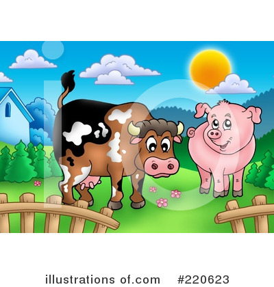 Farm Clipart #220623 by visekart