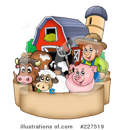 Farmer Clipart #227519 by visekart
