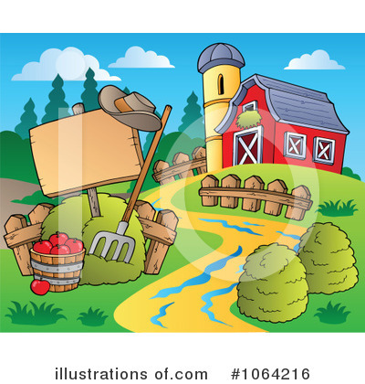 Farm Clipart #1064216 by visekart
