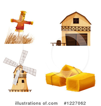 Scarecrow Clipart #1227062 by Graphics RF