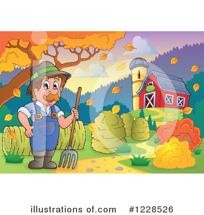 Farmer Clipart #1228526 by visekart