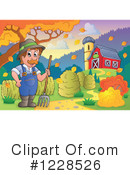 Royalty-Free (RF) Farm Clipart Illustration #1228526