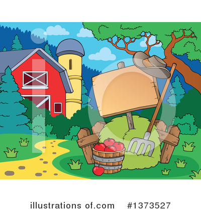 Farm Clipart #1373527 by visekart