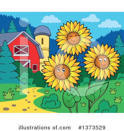 Farm Clipart #1373529 by visekart