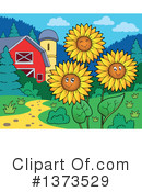 Royalty-Free (RF) Farm Clipart Illustration #1373529