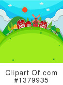 Royalty-Free (RF) Farm Clipart Illustration #1379935