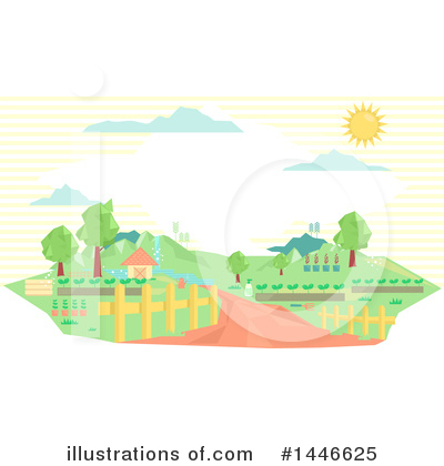 Landscape Clipart #1446625 by BNP Design Studio