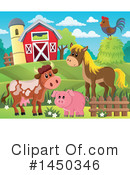 Royalty-Free (RF) Farm Clipart Illustration #1450346