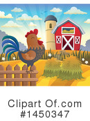 Royalty-Free (RF) Farm Clipart Illustration #1450347