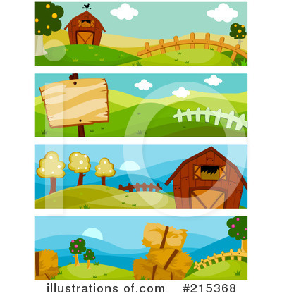Banners Clipart #215368 by BNP Design Studio