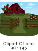 Royalty-Free (RF) Farm Clipart Illustration #71145