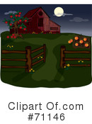 Royalty-Free (RF) Farm Clipart Illustration #71146