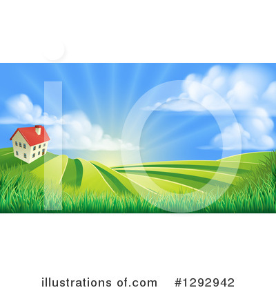 House Clipart #1292942 by AtStockIllustration