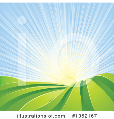 Royalty-Free (RF) Farm Land Clipart Illustration by Geo Images - Stock Sample #1052167