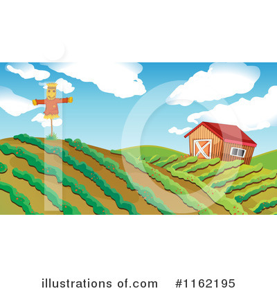 Scarecrow Clipart #1162195 by Graphics RF